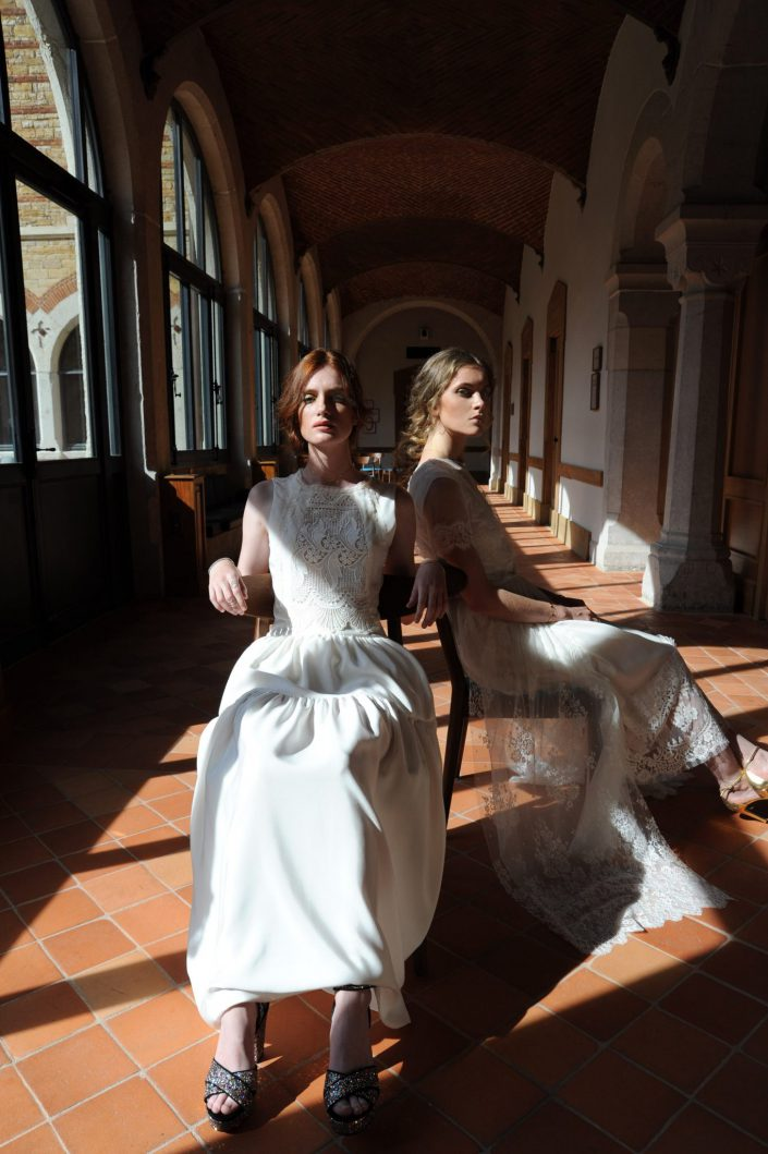 Robe de mariée Marie & Fleetwood Isabella Boutin