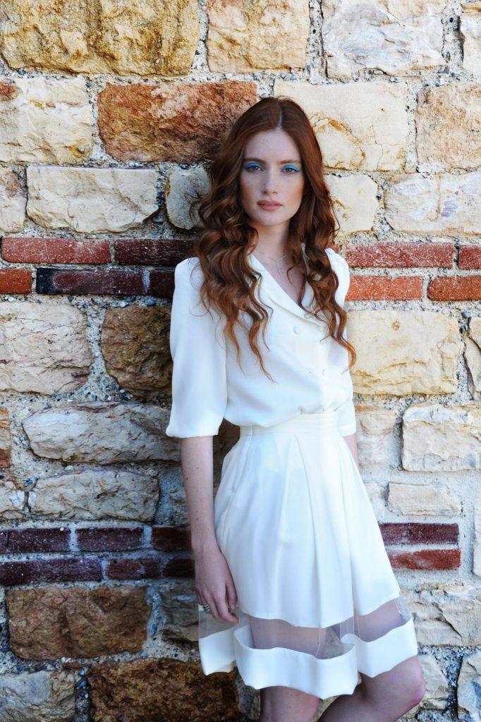 Robe de mariée courte Camille Isabella Boutin