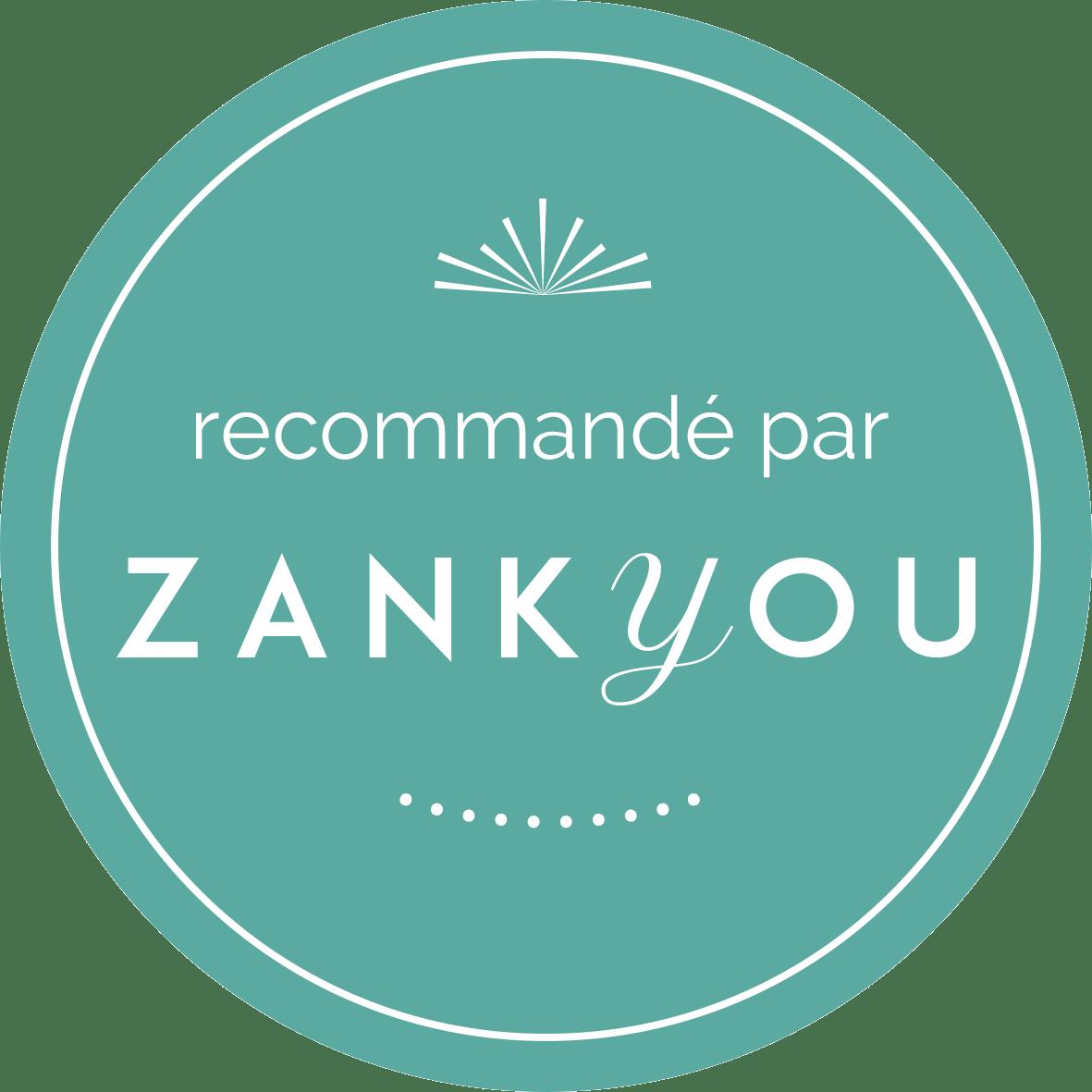 Entreprise recommande par Zankyou Mariage