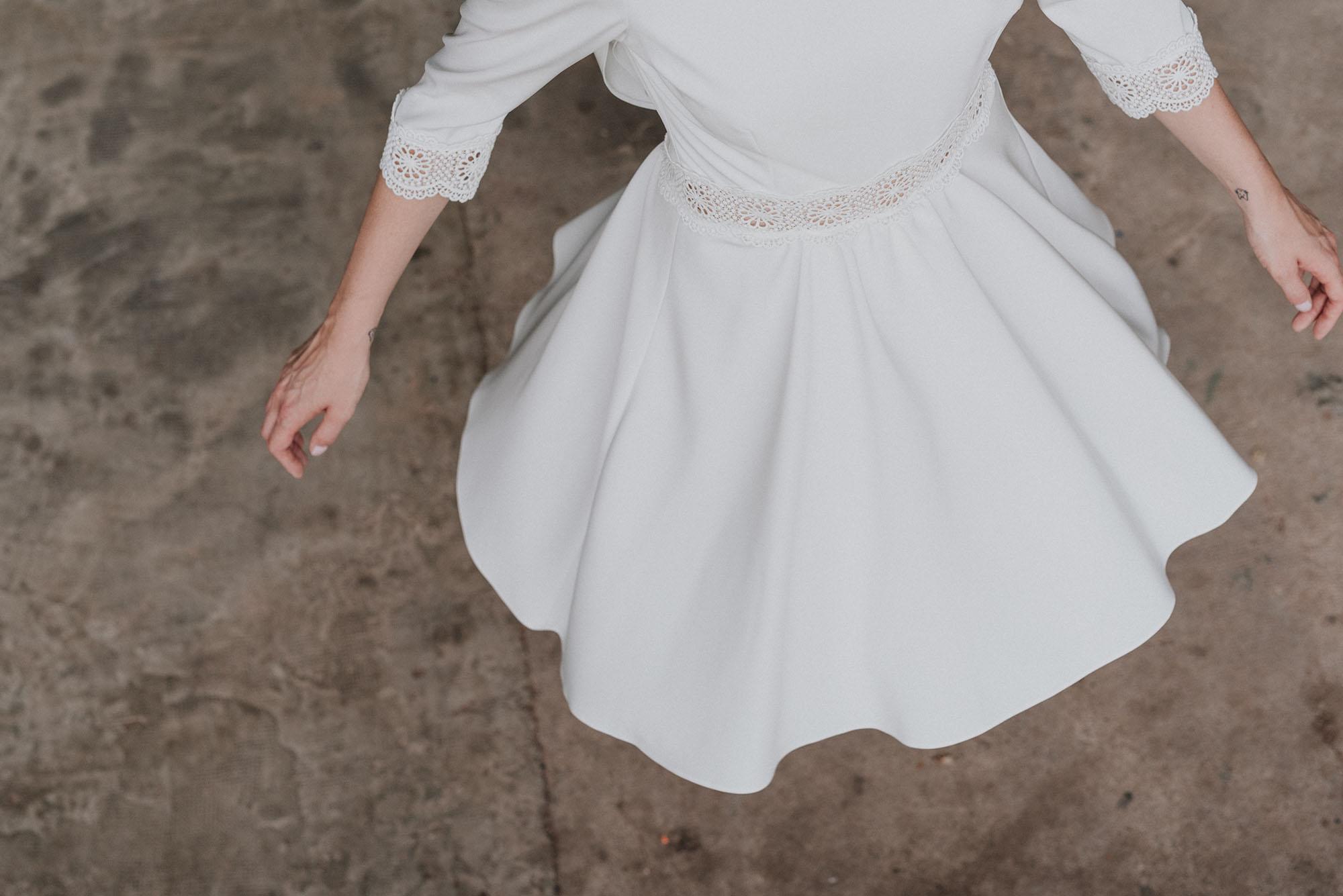 Robe de mariee lyon sur mesure