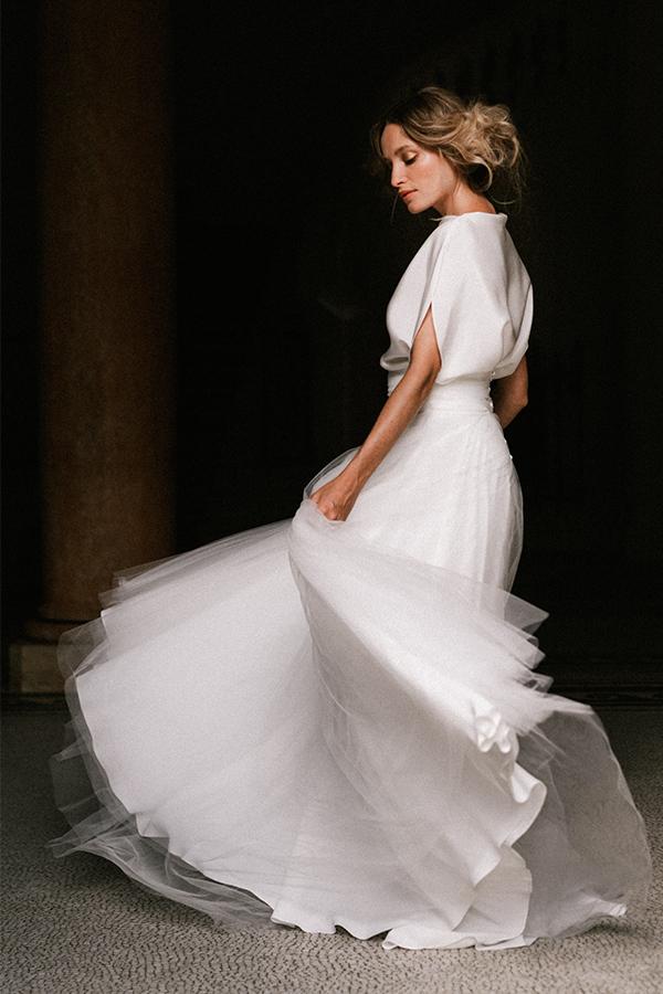 jupe de robe de mariee chloe