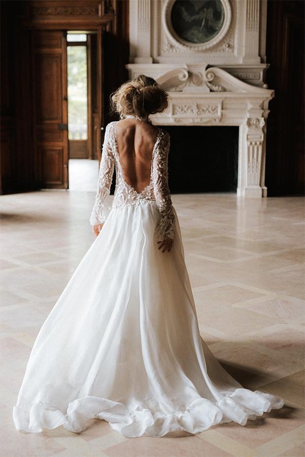 robe de mariée Camilla de dos