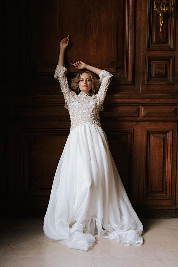 robe de mariée Camilla de face