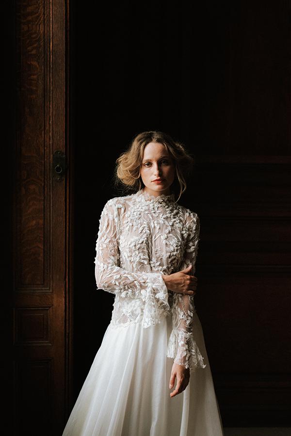 haut de robe de mariée Camilla