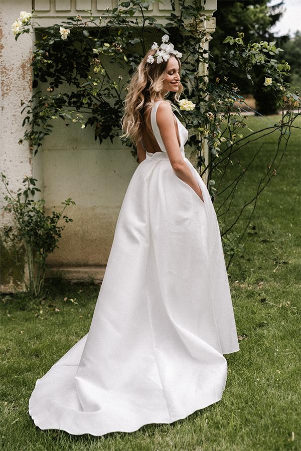 robe de mariee audrey dos