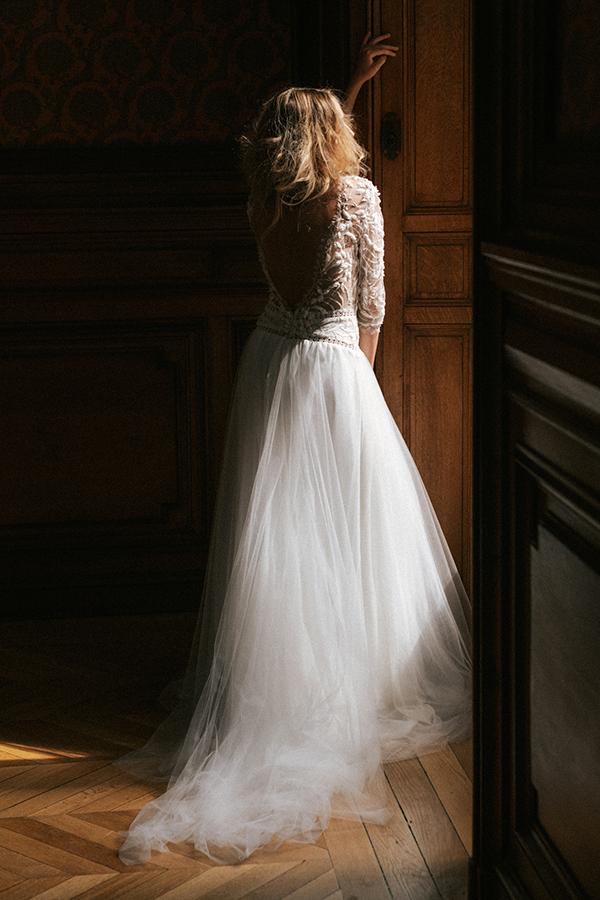 robe de mariee lorene dos